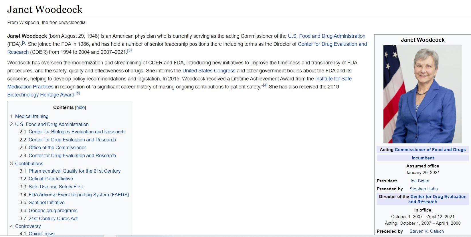 التعديل الذي تم على الويكيبيديا لحذف جرائم جانيت وودكوك